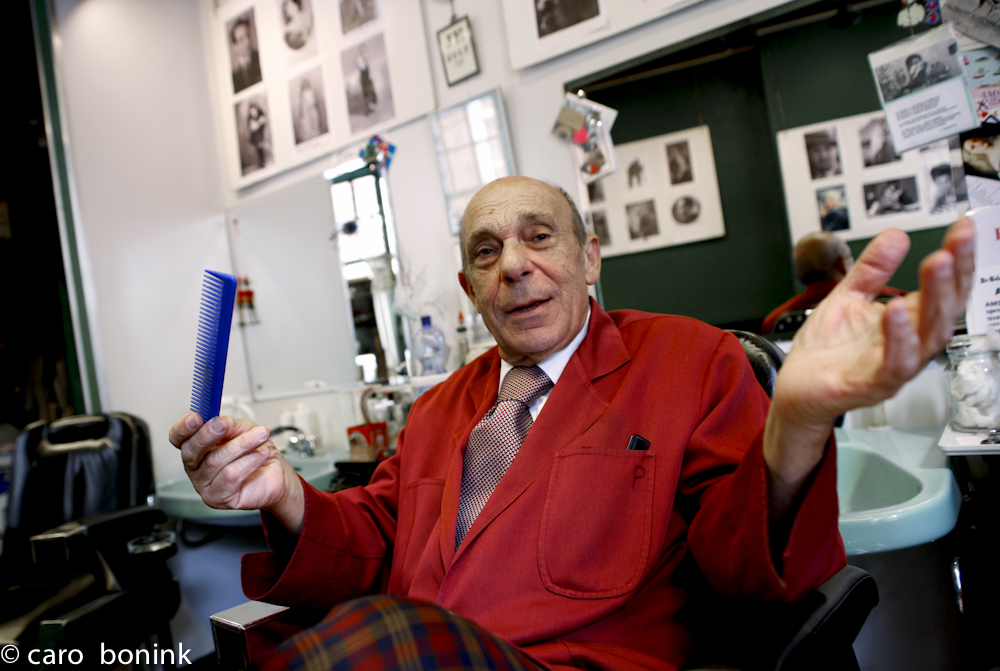 Figaro Pasquale Capone, Italian Barber in Amsterdam